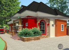 4 Bedroom Bungalow House Plan in Nigeria (Akwa Ibom)