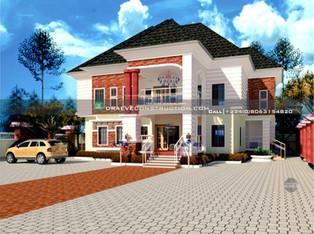 2 Units of 3 Bedroom Apartmens   Nigerian Houseplan Designs