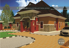 3 Bedroom Bungalow Building plan in Nigeria (Porharcourt)