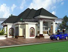 massive 2 bedroom bungalow design | Nigerian Houseplan Designs