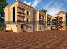 2 Storey Hotel Building Plan design in Nigeria (portharcourt)