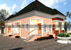 1 bedroom flat with 3 Units of Self contains in Benin | Nigerian Houseplan Designs
