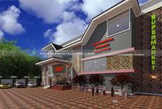 Supermarket Building design in Nigeria (Portharcourt)