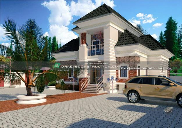 5 Bedroom Bungalow with Penthouse in Enugu, Nigeria