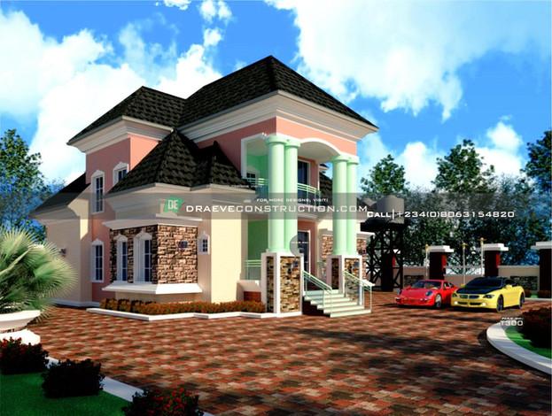4 Bedroom Penthouse Design in Lagos, Nigeria