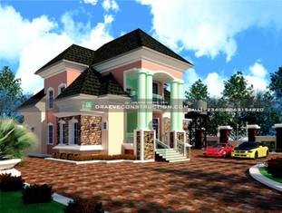 4 Bedroom Penthouse Design in Lagos   Nigerian Houseplan Designs