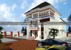 7 bedroom luxury penthouse design in portharcourt | Nigerian Houseplan Designs