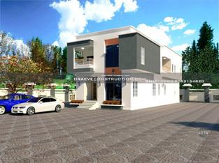 5 Bedroom Duplex Design in Lagos   Nigerian Houseplan Designs