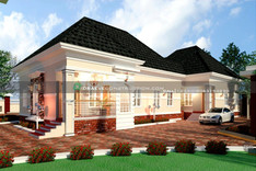 3 bedroom bungalow with BQ in Nigeria