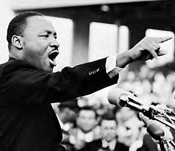 A photo of Dr. Martin Luther King, Jr.
