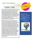 Table Talk Vol. 42: Jan. 24, 2017
