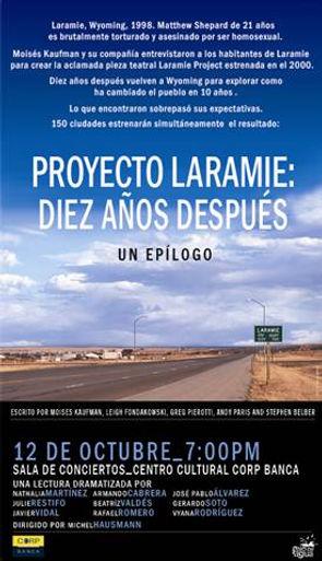 Laramie Project, Moises Kaufman, Michel Hausmann, Javier vidal