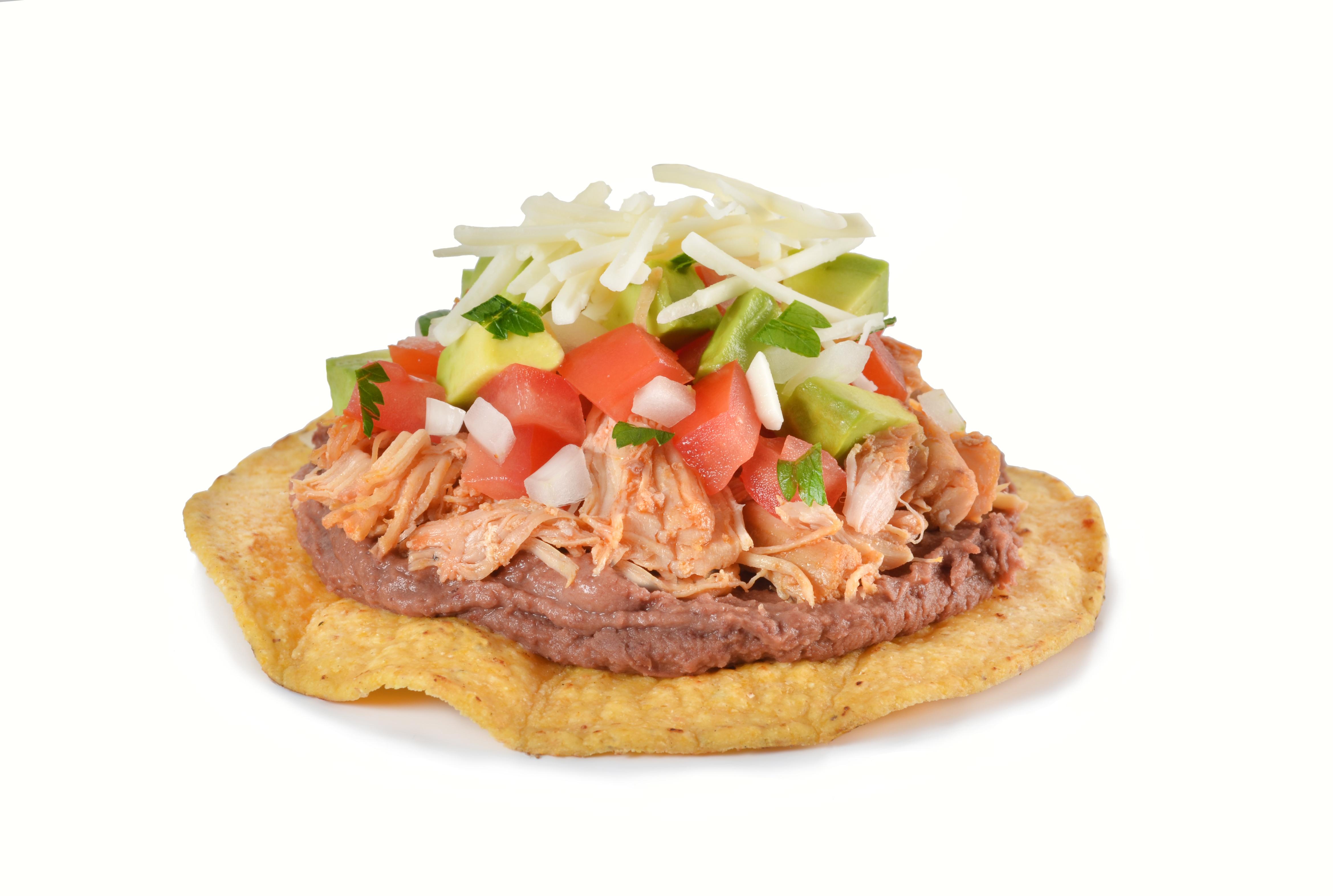 Tostadas mexicana  pollo 2.JPG
