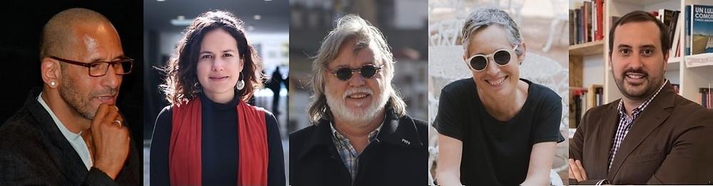 Juri de Longa: Ricardo Acosta, María Paula Lorgia, Paulo Mendonça, Patricia Martin e Marco Muhletaler