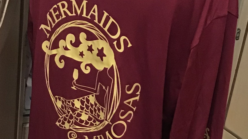 """Noles"" Crew Neck Garnet w/Gold Sun Shirt - Pre-Orders"