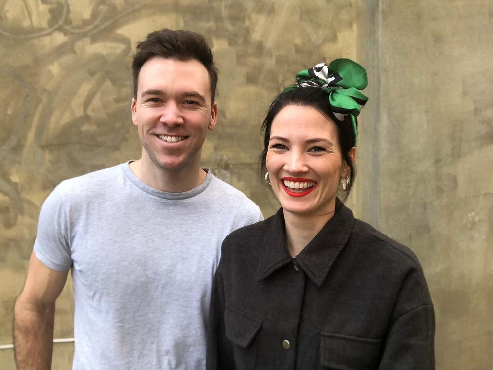 Sam Landon and Katie Glaister, founders of Long Time Dead Productions