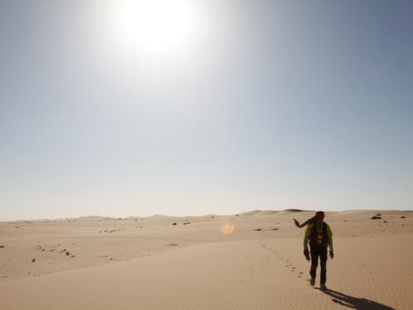 Interview with Max Calderan, Explorer and Star of Into the Lost Desert