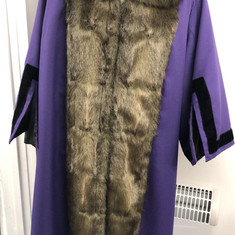 Purple Mayoral Robe