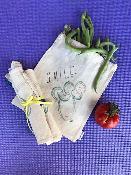 Medium Produce Bags- bundle of 3