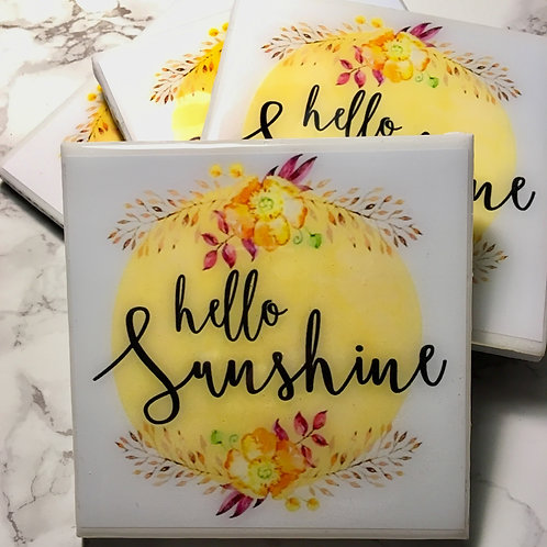 Hello Sunshine - Coasters