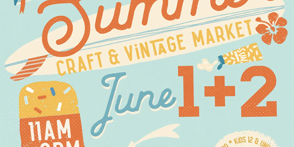 Indie Craft Experience - Summer Market