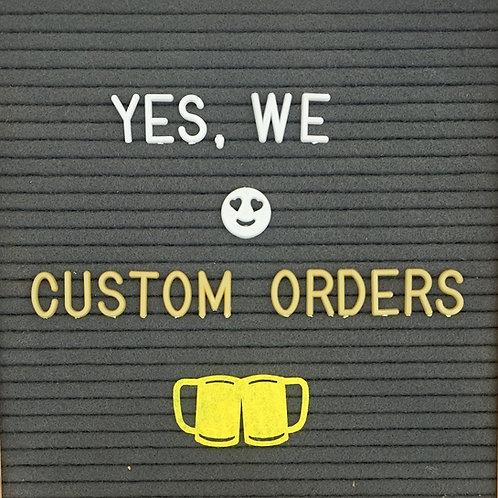 Coasters - Custom Order