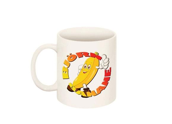 """Kaffeetasse / Teetasse """"Björn Banane"""""""