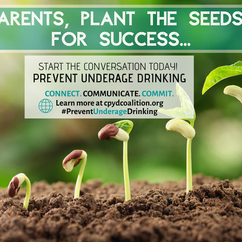 Underage Alcohol Prevention Campaign Targeting YOU- adults and parents in community