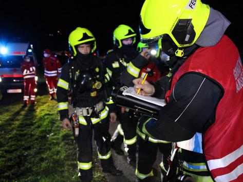 Alarmstufe 2: Wohnhausbrand in Nöstlbach