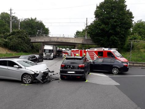 Verkehrsunfall auf der Dammstraße
