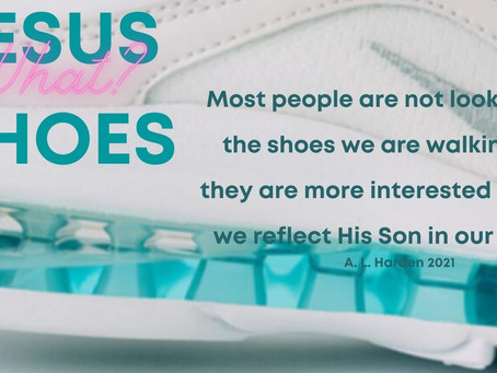Jesus Shoes - WHAT?