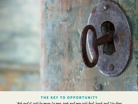 The Key to Opportunity