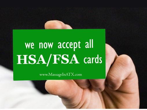 We Now Accept All HSA / FSA Cards!