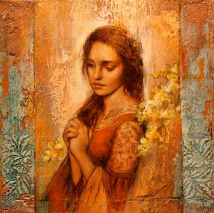Meditation Under Blossoms