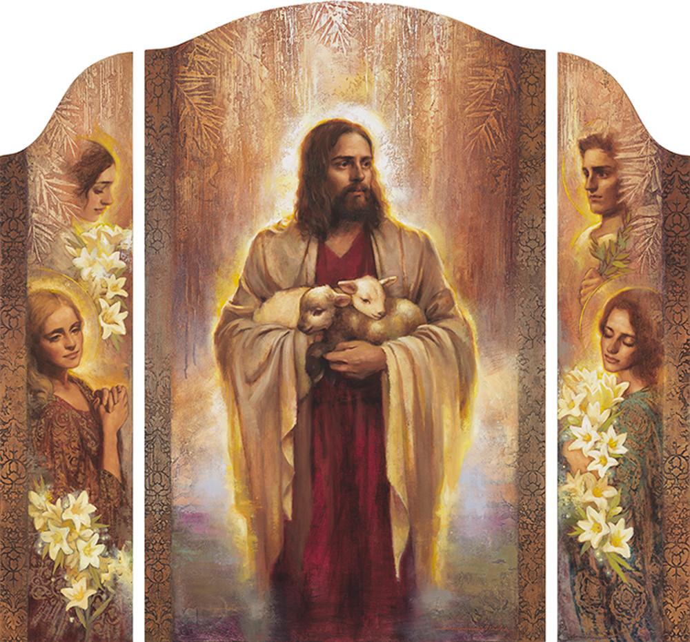 Mercy's Embrace (Full Triptych)