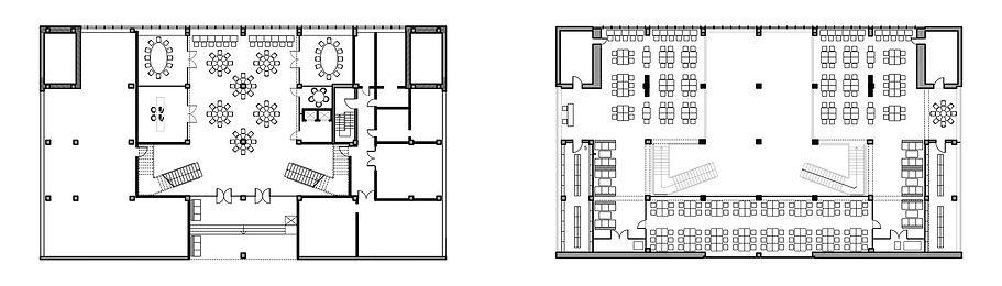 Библиотека МИСиС. Планы этажей.