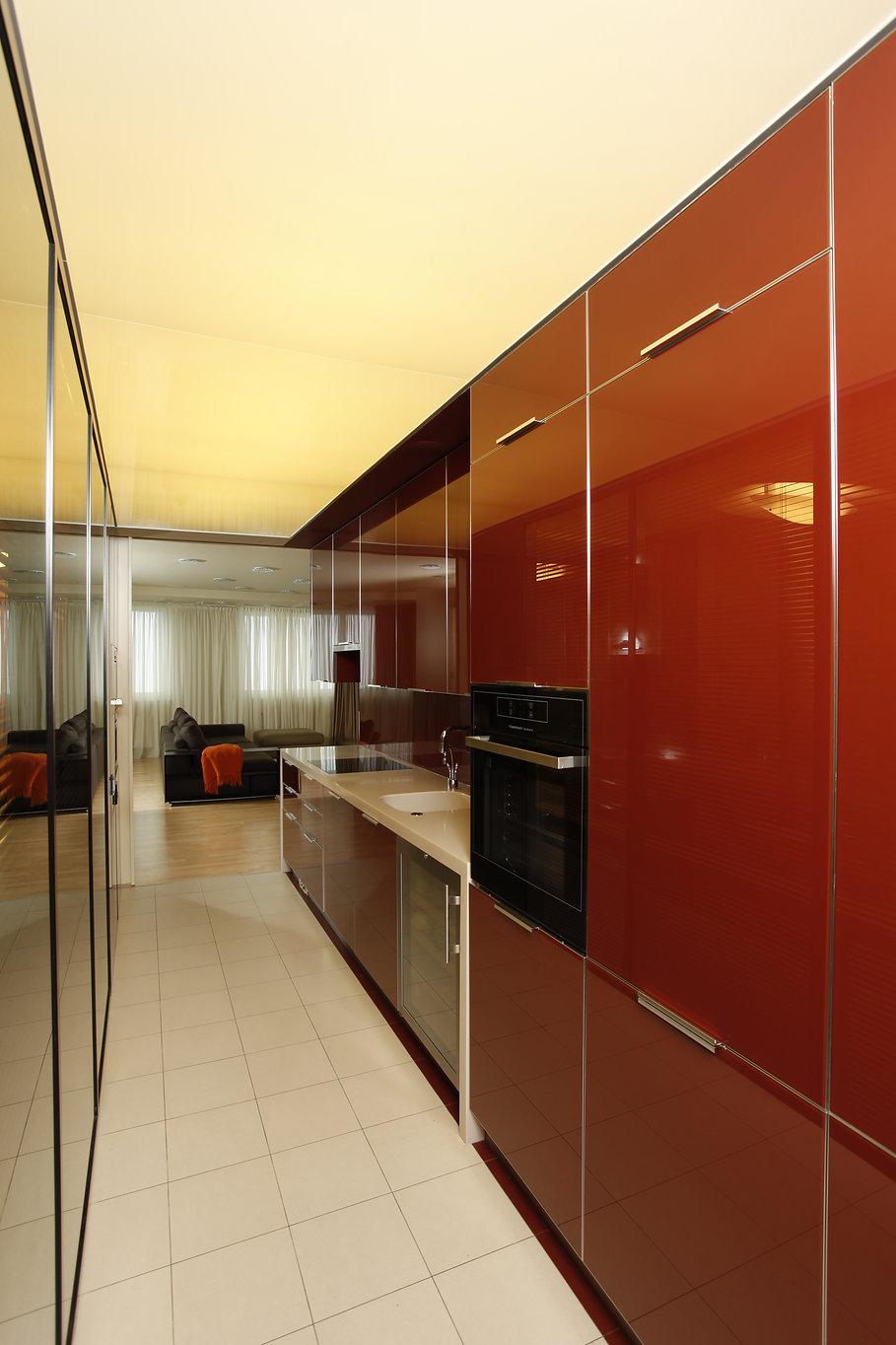 Квартира на Ходынке. Интерьер кухни.