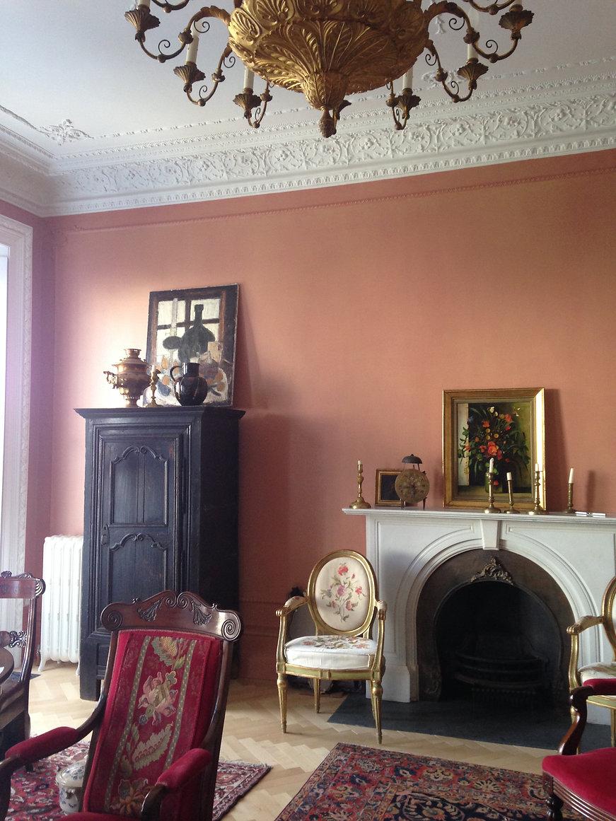 Квартира в Лондоне. Интерьер в гостиной.