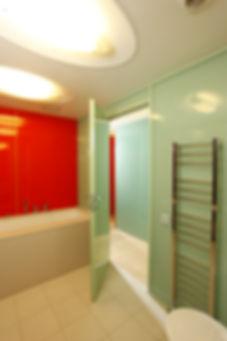 Квартира на Ходынке. Интерьер ванной комнаты.