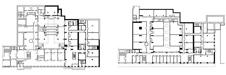 """Научный кластер """"Точка"""". Планы этажей."""