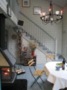 Дом на Медном озере. Интерьер гостиной.