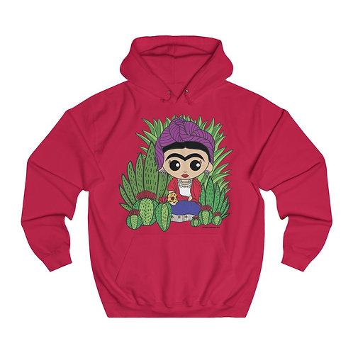 Frida Calaveras Unisex College Hoodie