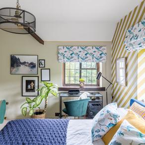 An interior designer's approach to bedroom storage.