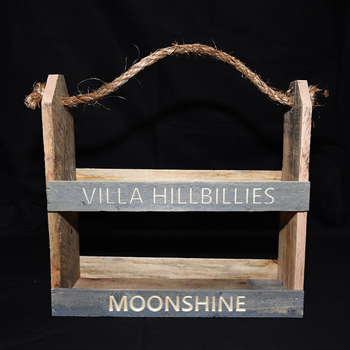 Villa Hillbillies Moonshine Tri-Pack Holder