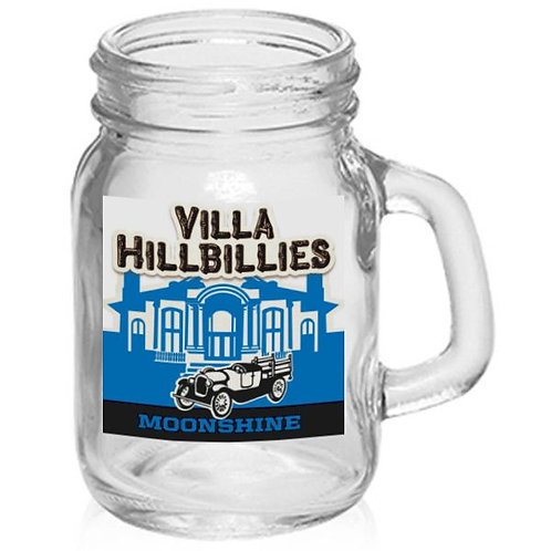4oz Villa Hillbillies Moonshine Shot Glass Mug