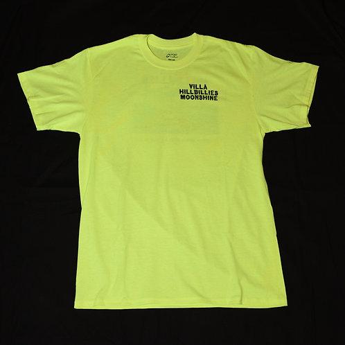 Villa Hillbillies Moonshine T-Shirt Size M