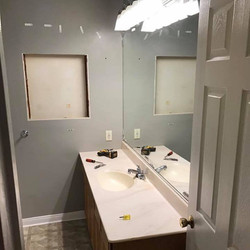 Before & After - Bathroom Remodel