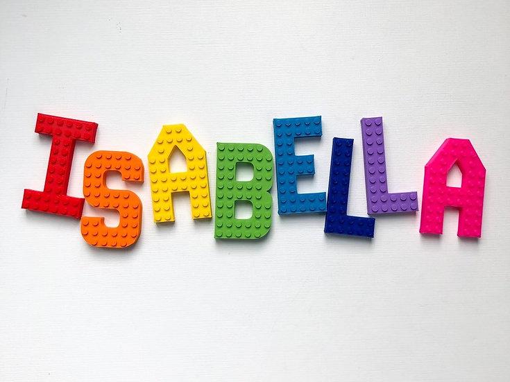 Brick Compatible Small Letters