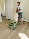 Reinishing wood floors