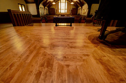 maple, refinished, custom stain